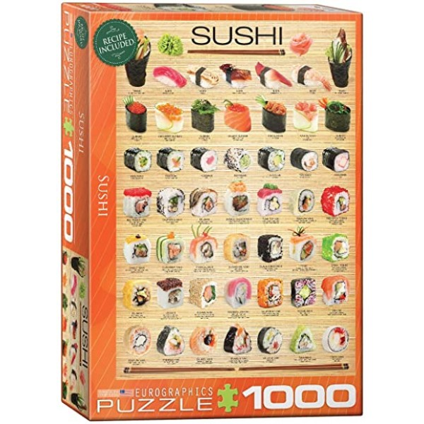 Sushi, 1000el. ( Smart Cut Technology) - Sklep Art Puzzle